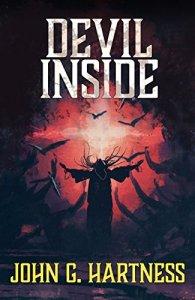 Cover Art for Devil Inside (Quincy Harker)