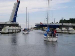 Manövrering i hamn