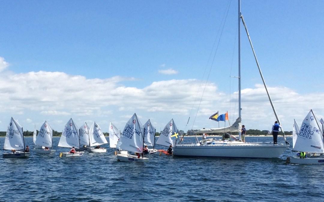 Öresunds race i Lomma på gång