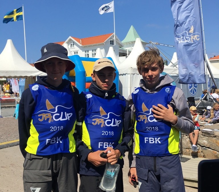 FBK seglare på fin 8:e plats i JR Cup Marstrand 2018