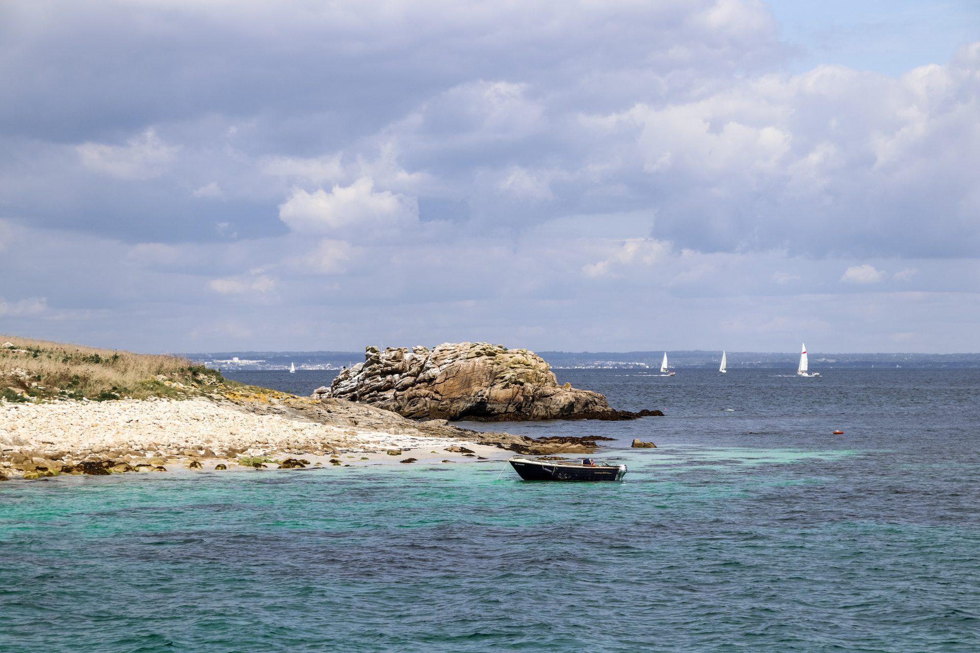 Glénan-Inseln-Boot