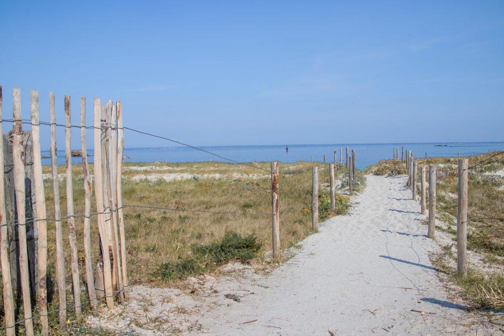 Glenan-Inseln-strand