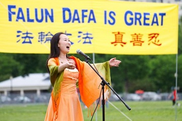 Sing Falun Dafa Is Great