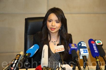 替法轮功发声的加拿大小姐 被拒绝入中国参赛