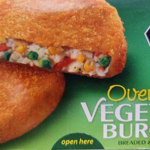 Eurofreeze Vegetable Burgers x4