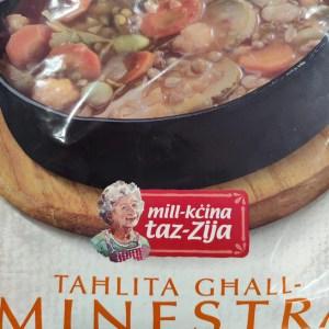 Tahlita Ghall-Minestra – Mill Kcina Taz Zija 1Kg