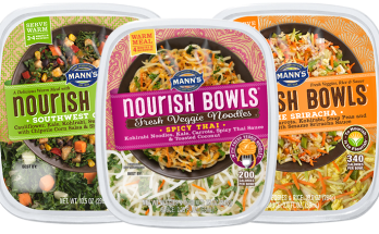 Mann's Nourish Bowls Veggies Made Easy