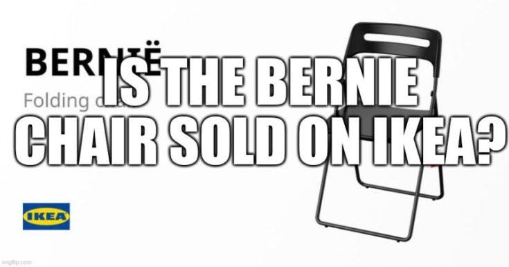 Is the Bernie Chair on Ikea?