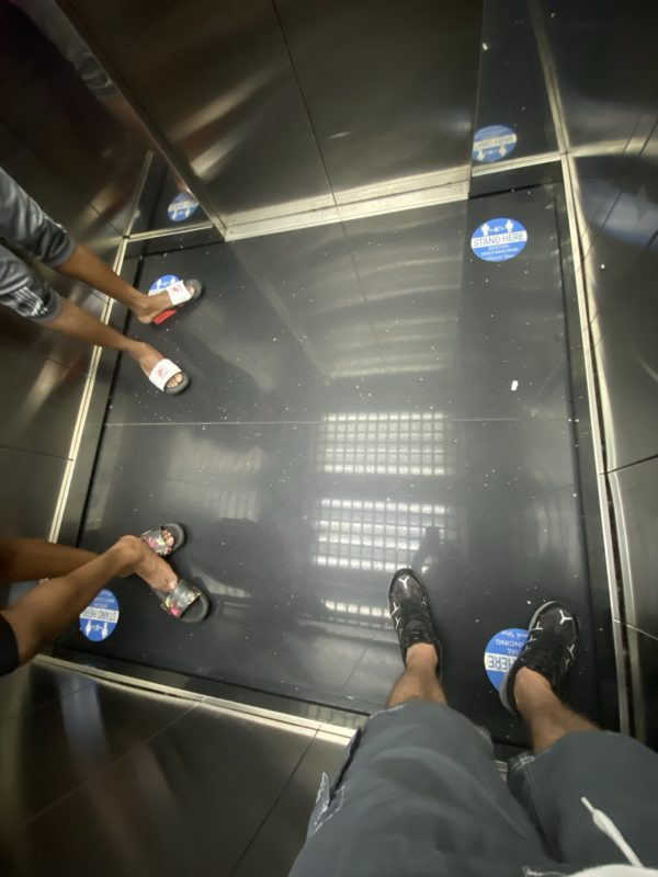 Did you know somebody studied where we stand in the elevator?