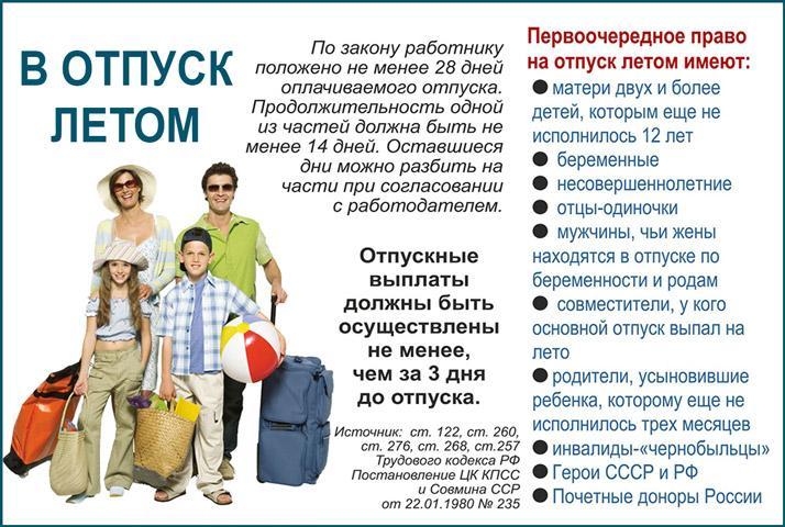 Права многодетной матери в трудовом кодексе российской