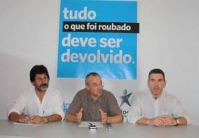 Adelino Mota, Paulo Costa e José Luís Araújo