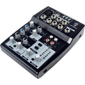 Mesa de Som Hayonik 05 Canais HMX 105 USB