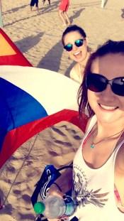 Since we met in Prague, it was only necessary to find the Czech flag that was displayed on Venice Beach during a World Peace drum circle gathering.