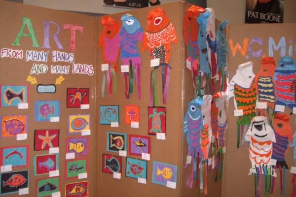 Children's Artwork At Wabash FAME Festival
