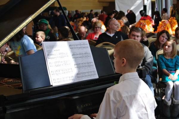 Piano Recital In Main Hall Of Grand Wayne Center