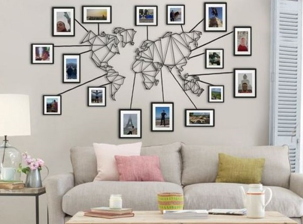 Living Room Wall Ideas 20 Unique Diy Ideas On A Budget Famedecor Com