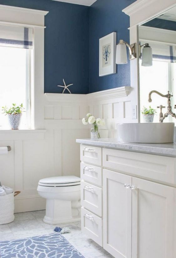 Blue Bathroom Ideas 24 Most Attractive Decors With Soothing Vibe Famedecor Com