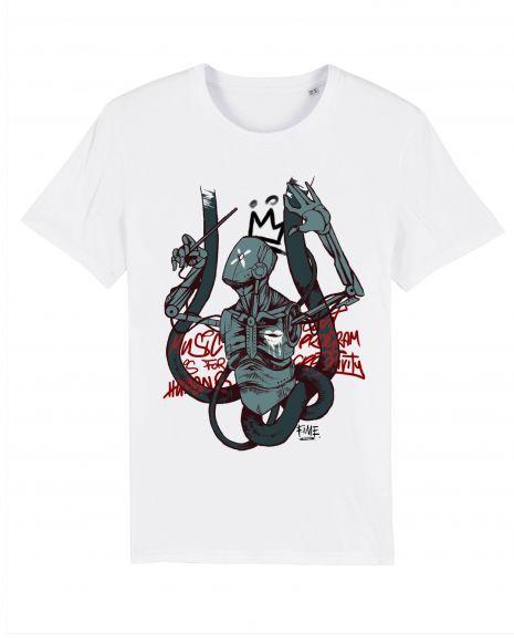 AI COMPOSER Unisex T-Shirt – White