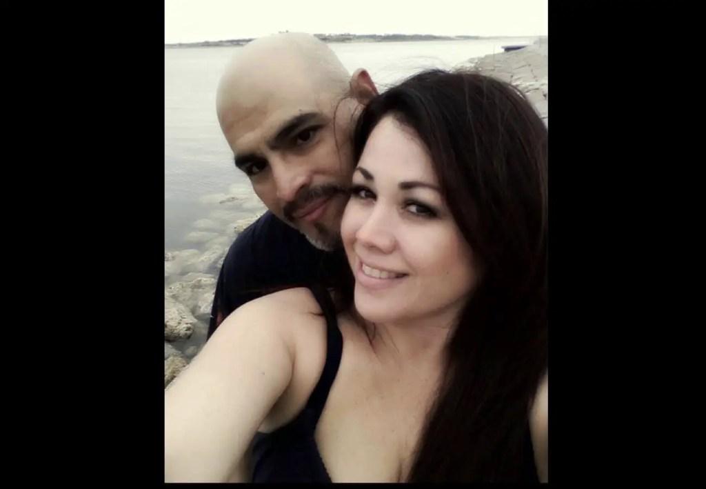 Vanessa Villanueva and husband Henry Soliz