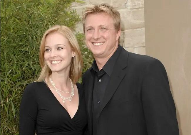 Stacie Zabka with husband William Zabka in 2010