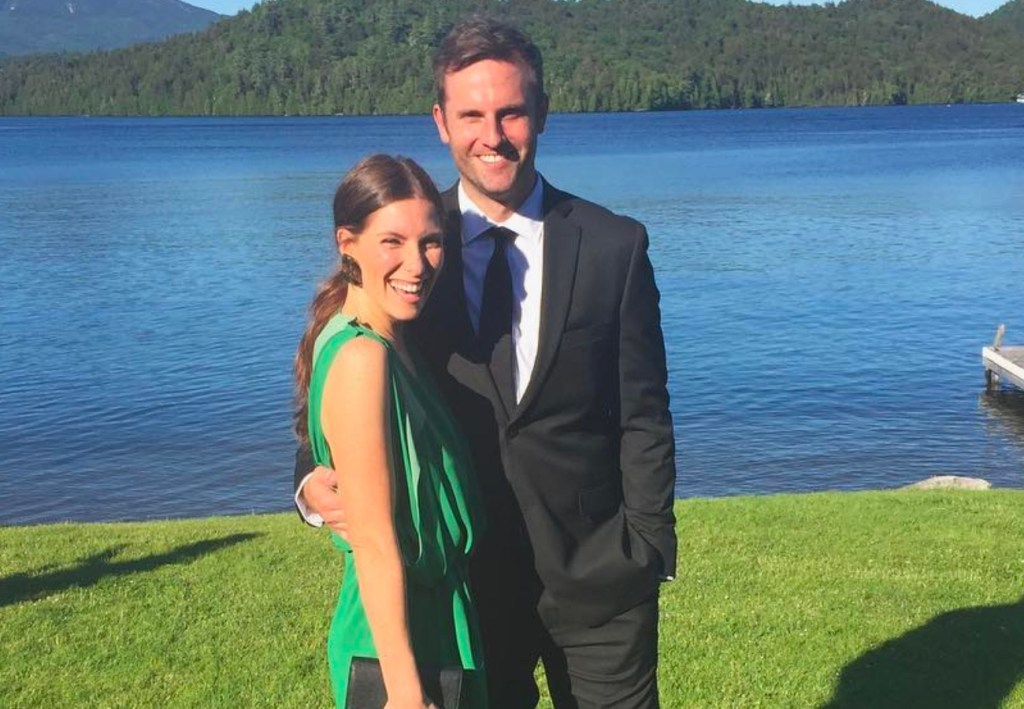 Sarah Levy and boyfriend Graham Outerbridge
