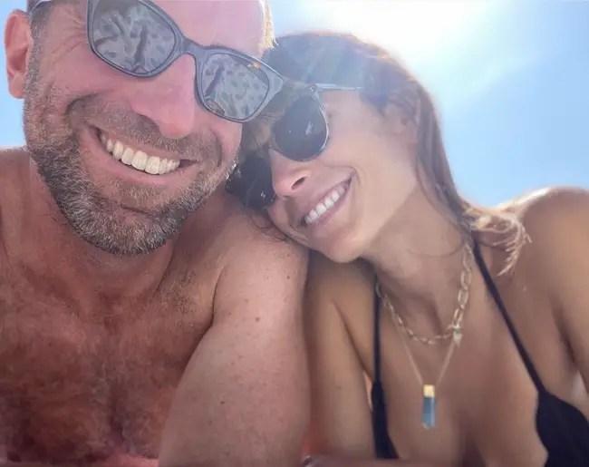 Mason Morfit and girlfriend Jordana Brewster