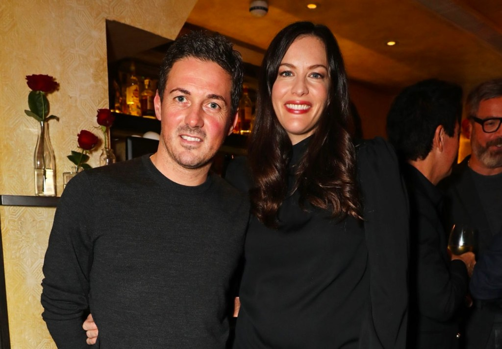 Dave Gardner and wife Liv Tyler