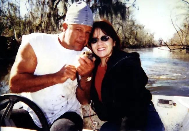 Shelby Stanga with wife Donna Stanga