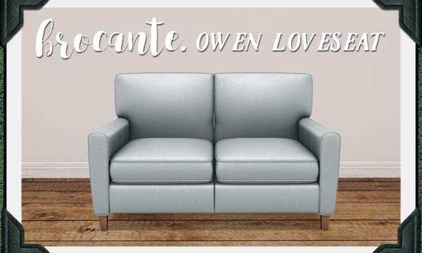 Owen Loveseat. PG: L$249. Adult: L$499.