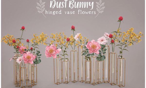 Hinged Vase Flowers. L$250.