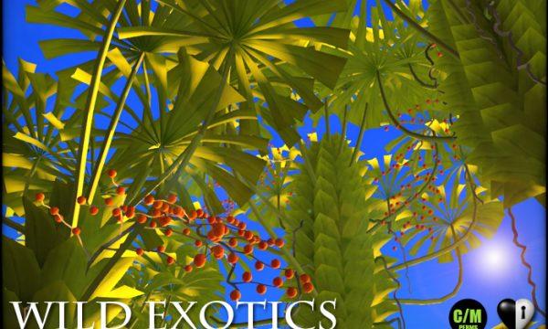 Wild Exotics - Umbrella Palms. L$499. 🎁