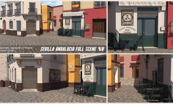 Sevilla & Alucia Full Scene. L$799.