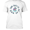 Famfabrix round web T shirt white
