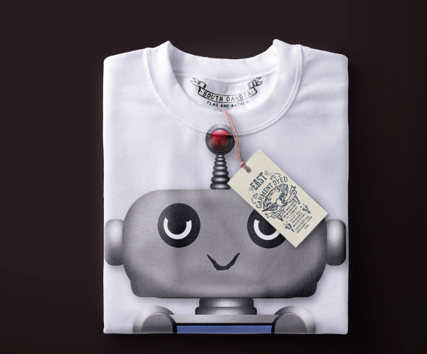 Robot Women folded Tee e1577661155783