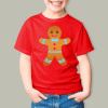 gingerbread boy girls RED tee scaled