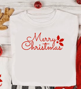 Merry Christmas T-shirt Family
