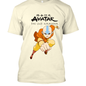 Avatar The Last Airbender Aang Strike T-Shirt