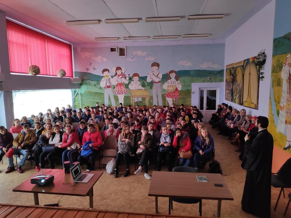 Viața fericită întrevăzută în Operele Sfinților Părinți pentru Tinerii Gimnaziului Gaudeamus, Petrești, raionul Ungheni