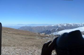 À caminho da Cordilheira dos Andes