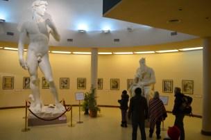 Galeria de Arte na confeitaria