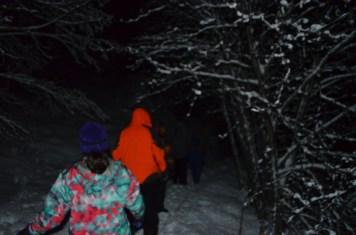 De volta à trilha noturna