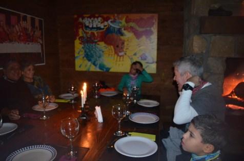 Jantar no Refúgio Berghof