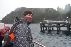 Saindo da Isla Victoria para o Bosque de Arrayanes