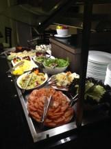Buffet de saladas do Kess