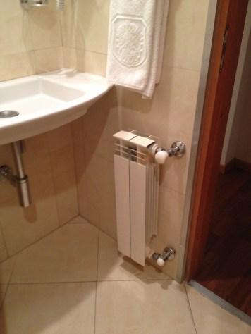 Aquecedor no banheiro deve ser um item obrigatório nos lugares frios.