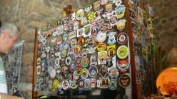 Lembranças dos motoclubes que visitaram o engenho