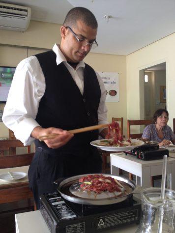 Preparação do churrasco