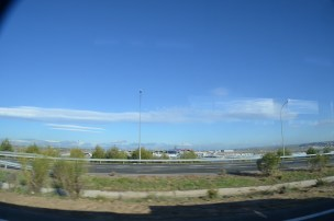 Vista do aeroporto Barajas