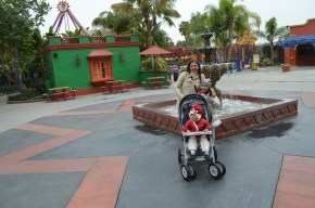 Passeando no Knott's Berry Farm