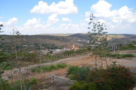 Vista de Triunfo a partir do Sesc